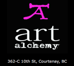 art alchemy studio and gallery in Courtenay BC