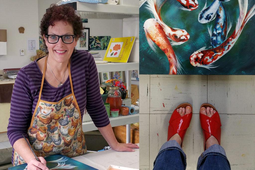 Maggie Ziegler Artist, eb and Graphic Designer Courtenay BC