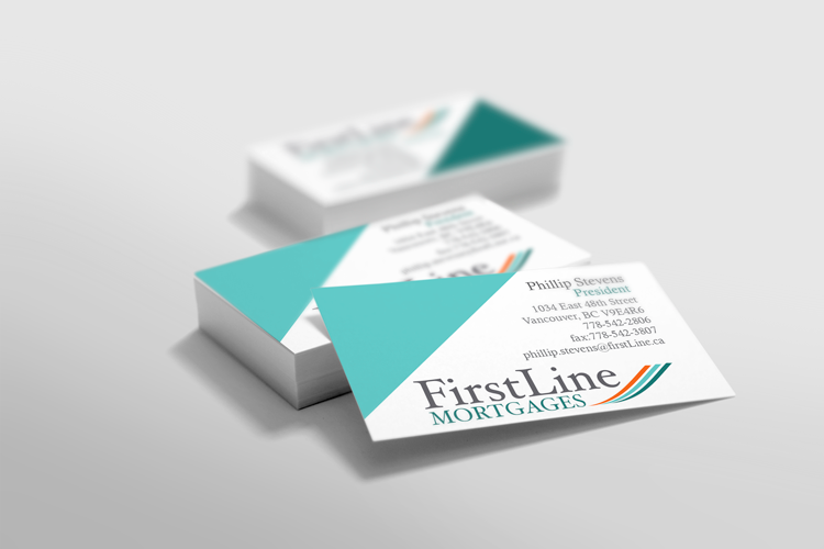 business cards designed by Maggie Ziegler, artist and designer from Courtenay BC