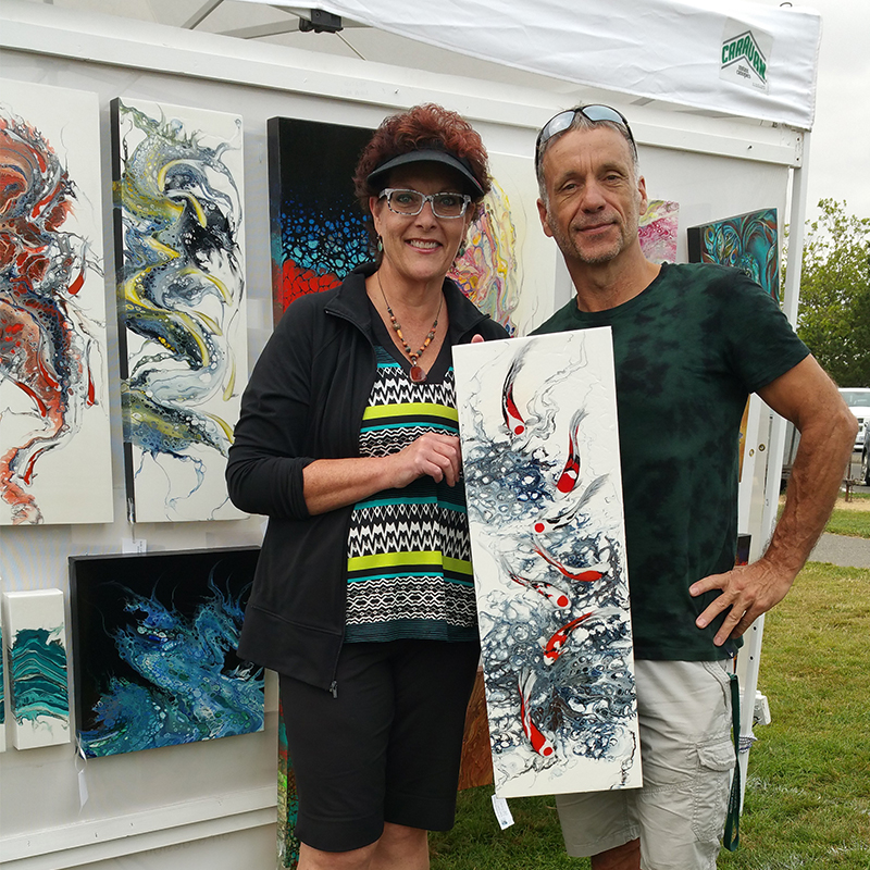 Originals Only Art Show and Sale Courtenay BC